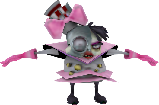 Cyborg Idol (Crash Tag Team Racing) Model by CRASHARKI