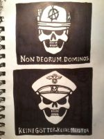 Shadbase proposed civilian and presidential flags by RedSinister97