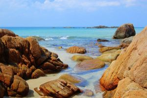 Beach in Bintan - Indonesia by acrobrat