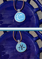 Water Tribe Necklace by ReneeYV