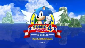 Sonic 4 Episode Generations Title Screen by RollingTombstone