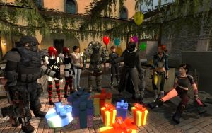 An epic birthday by Yohan-Gas-Mask