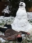 Doctor Who Snowman by Sam-Kitcher