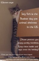 A word from my kittens... by MalisVitterfolk