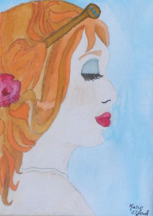 Aphrodite watercolour