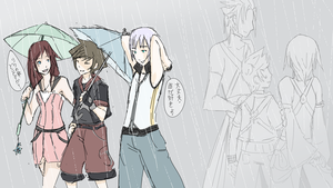 Rain Rain, go away. Come again another day. by Kima-chi