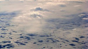 Flying Over Canada by Adrienneknott