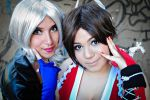 KOF girls by absolutequeen