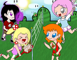 A Royal Tennis Match by Rotommowtom