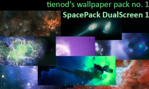 Space Wallpaper Pack no. 1 by tienod