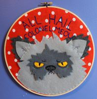 ALL HAIL COLONEL MEOW by loveandasandwich