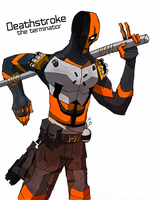 Deathstroke by ThereisNoDeath