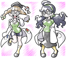 May, Ph. D and Specs Maniac by Shenaniganza