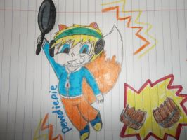 pewdiepie plays Conkers bad fur day by Emmybomber