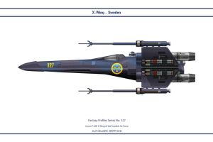 Fantasy 327 X-wing Sweden by WS-Clave