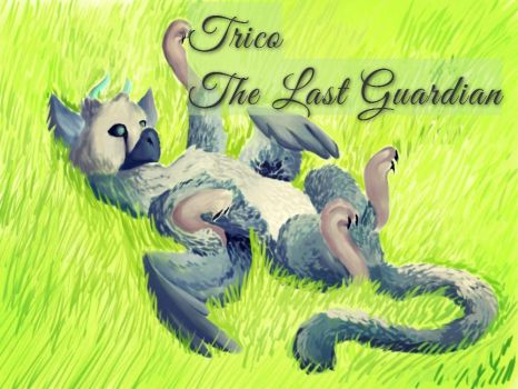 The Last Guardian. Trico. by FINCHina