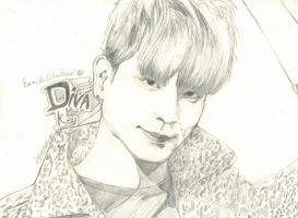 DIVA KEY : SHInee : Happy Birthday Bluepearl : by ocecen