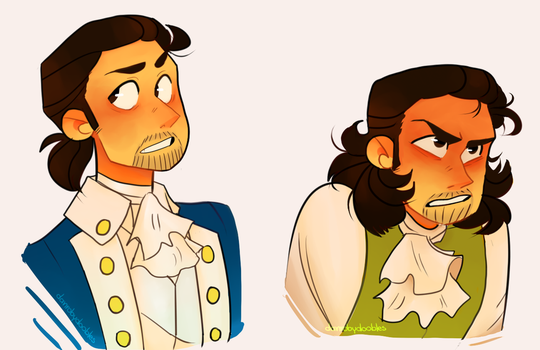 Hamilton by DanRobydoobles