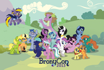 BronyCon Art - 2013 Guest Poster by nanook123