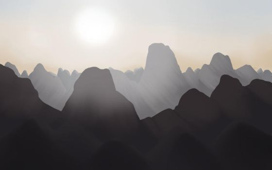 Chinese Mountains by cesarkohl