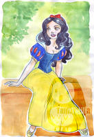 Snow White by TaijaVigilia