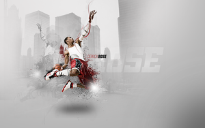 Derrick Rose Wall by richyayo