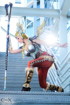 Mercy Valkyrie Cosplay by CLeigh-Cosplay