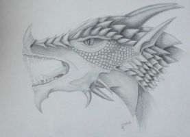Dragon head by IrunMerkulova