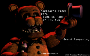 Grand Reopening! by FredbearTheAnimatron
