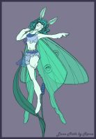 Luna Moth Fairy by Theriona