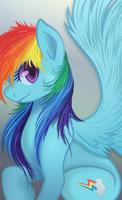 Rainbow Dash by RainbowPlasma
