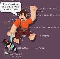 Code it Ralph! by doctormo