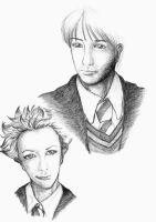 Remus and Tonks by pitikana