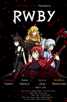 RWBY Movie Poster 2 by IceNinjaX77