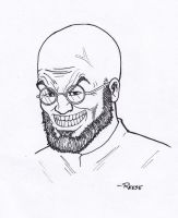 Hugo Strange by Deviator77