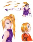 ino throughout the years by ino-vs-sakura