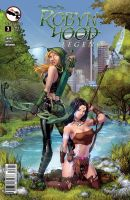 Robyn Hood Legend 3 Cover C by cehnot