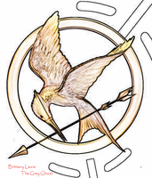 Hunger Games Mockingjay by ArtistGreyGhost