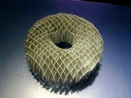 3D Paper Doughnut by ckry