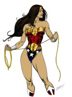 Traditional Wonder Woman by Druce-White-Owl