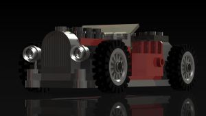 Lego Rat Rod Feature by Tau-Crisis