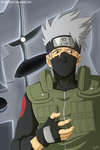 Kakashi of the Sharingan by Melonciutus