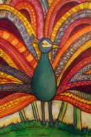 Peacock by Lydia-distracted