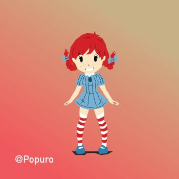 Wendy No Outlines  by MrPop137