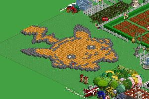 My Farmville - Pikachu by shiny-latios01