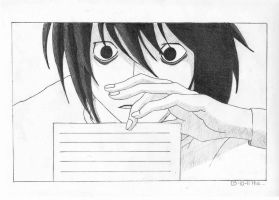 L Lawliet. by AnLPsoldier