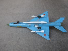 1/48 scale Soviet MiG-21 PH 4 by Coffeebean2