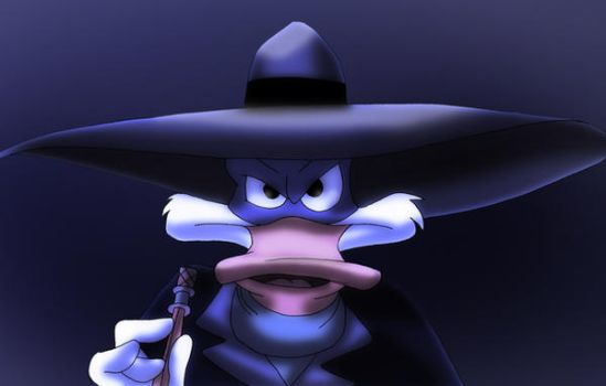 Darkwing Duck Color by Arielle-Kasa