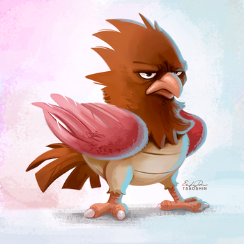 021 - Spearow by TsaoShin