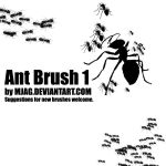 Brushes: ANT 1 by Mjag